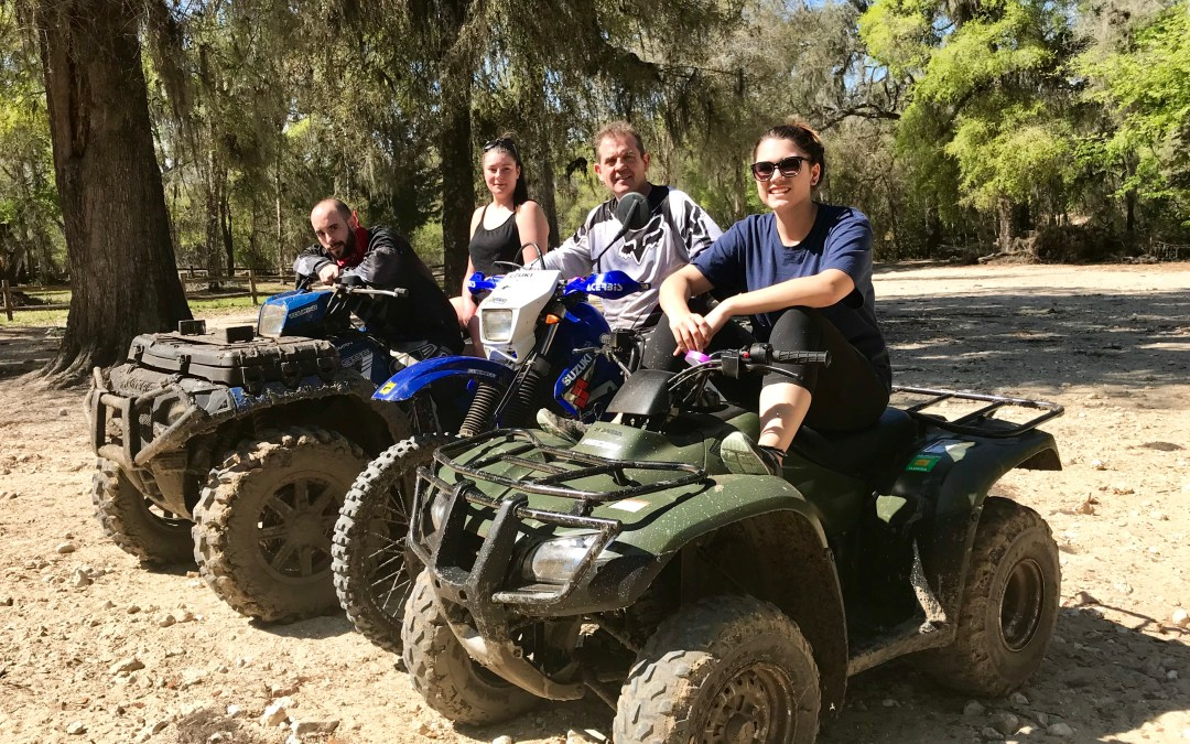 ATV fun; side blog…!