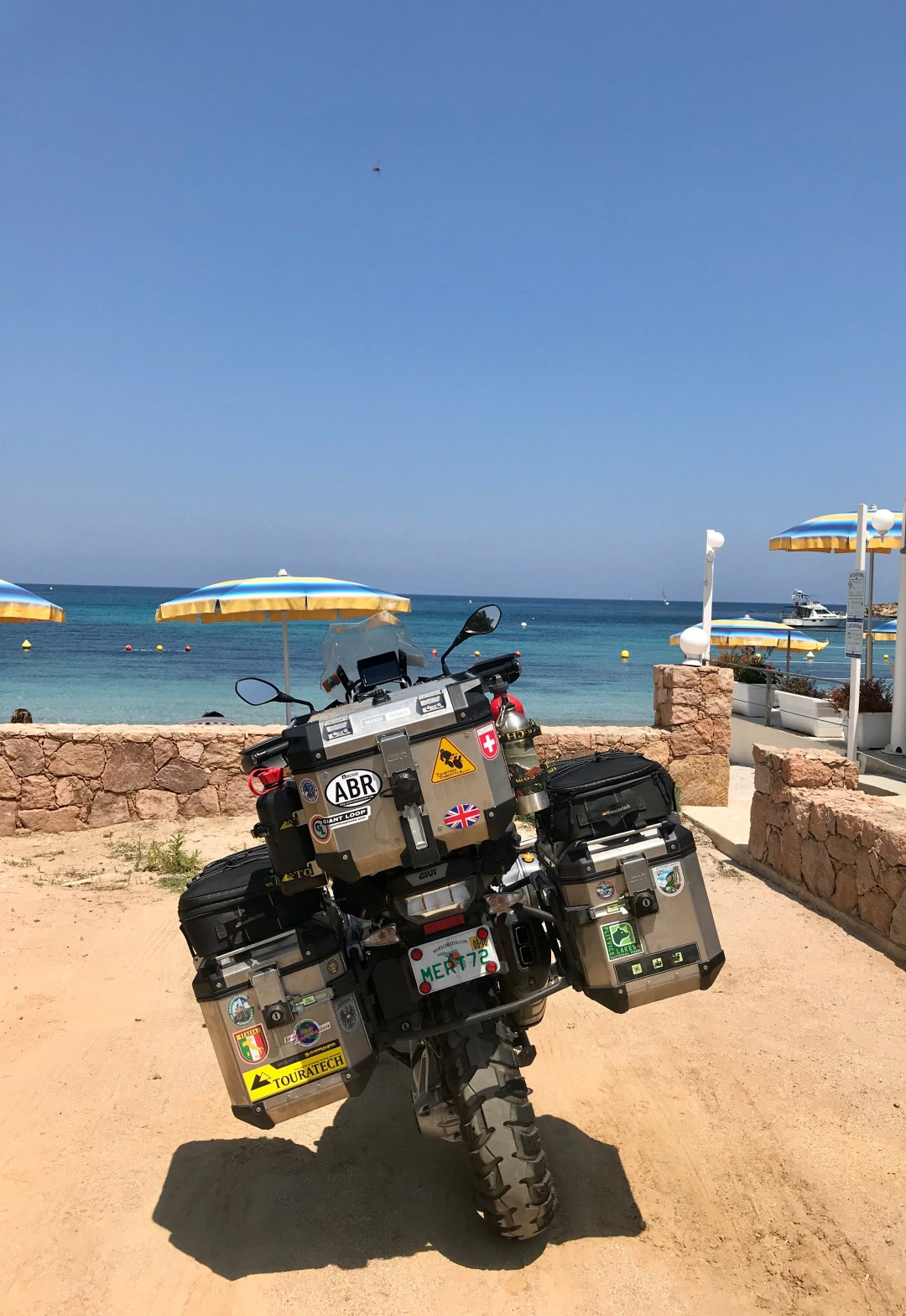 Corsica Motorcycle touring