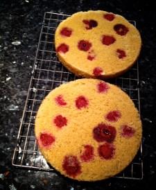 Raspberry Victoria Sponge 1
