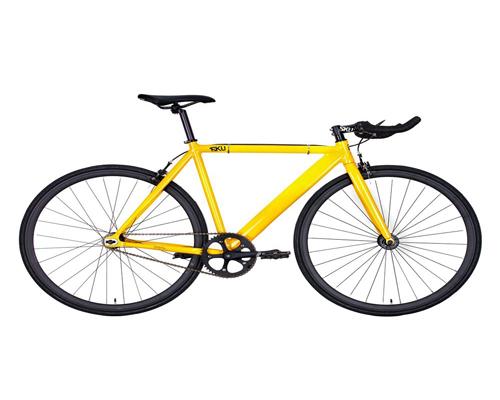 6KU Aluminum Single Speed Fixie Urban Track Bike
