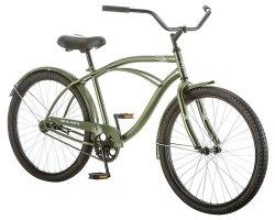 Kulana Men's Cruiser Bike, 26-Inch, Green