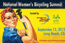 National Women's Bike Summit, Sept. 10-13, 2013, with Rosie the Riveter image