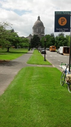 If you visit the state capital, take your bike! Lots of bike lanes and only ONE franchise (Starbucks) in the entire downtown with 110 local shops & restaurants.