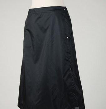 Wander Wrap waterproof rain skirt for biking, hiking, walking. Made by Wander Goods of Seattle, WA.