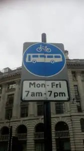 New traffic restrictions for Bank junction