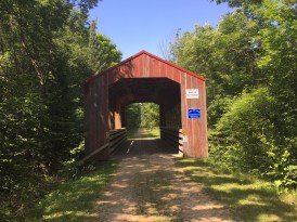 Covered Bridge on the Mountain Bay Trail