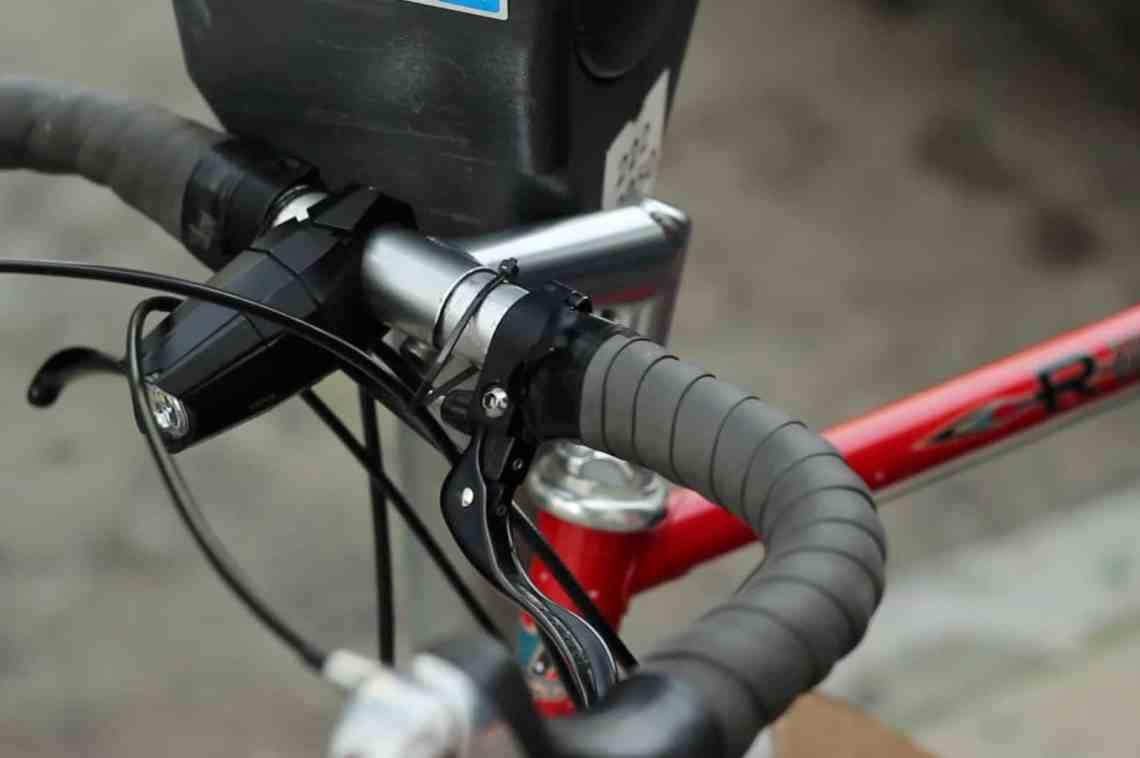 a locking bike light
