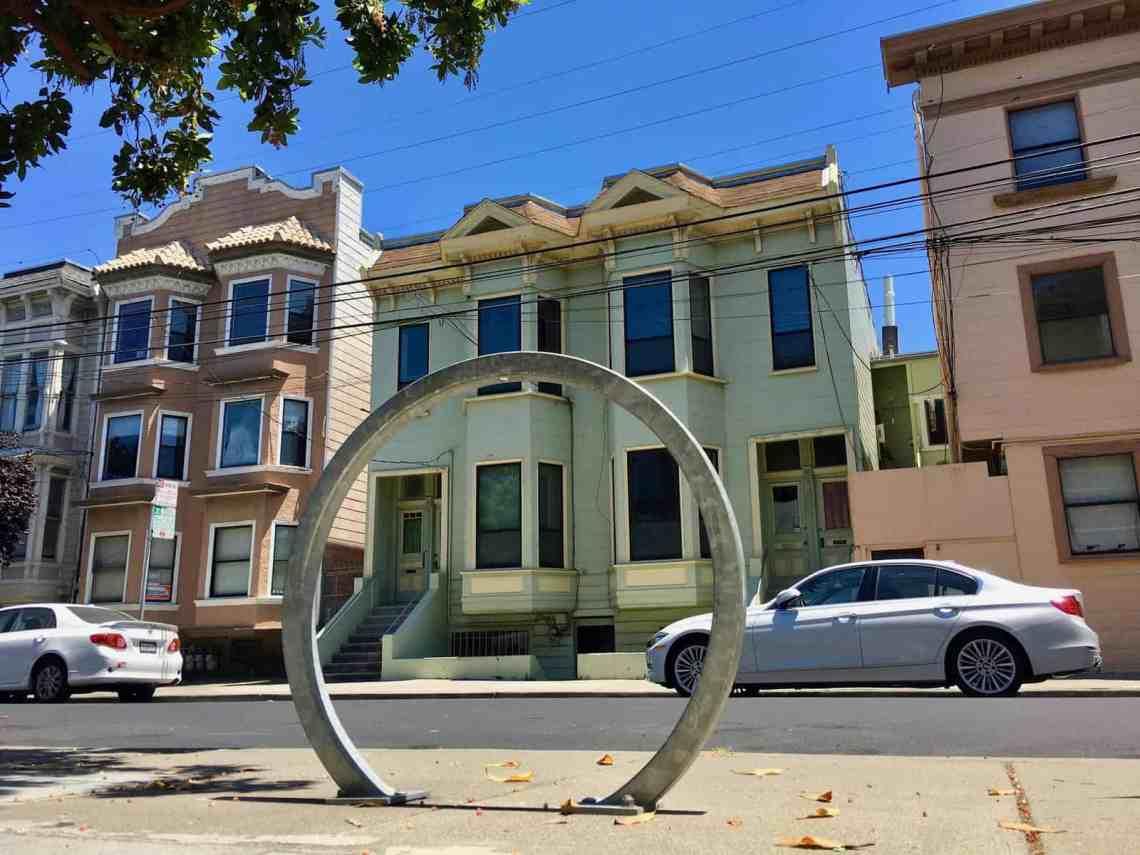 A San Francisco Bike Rack