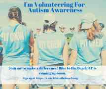 I'm Volunteering to Help with the Fight Against Autism