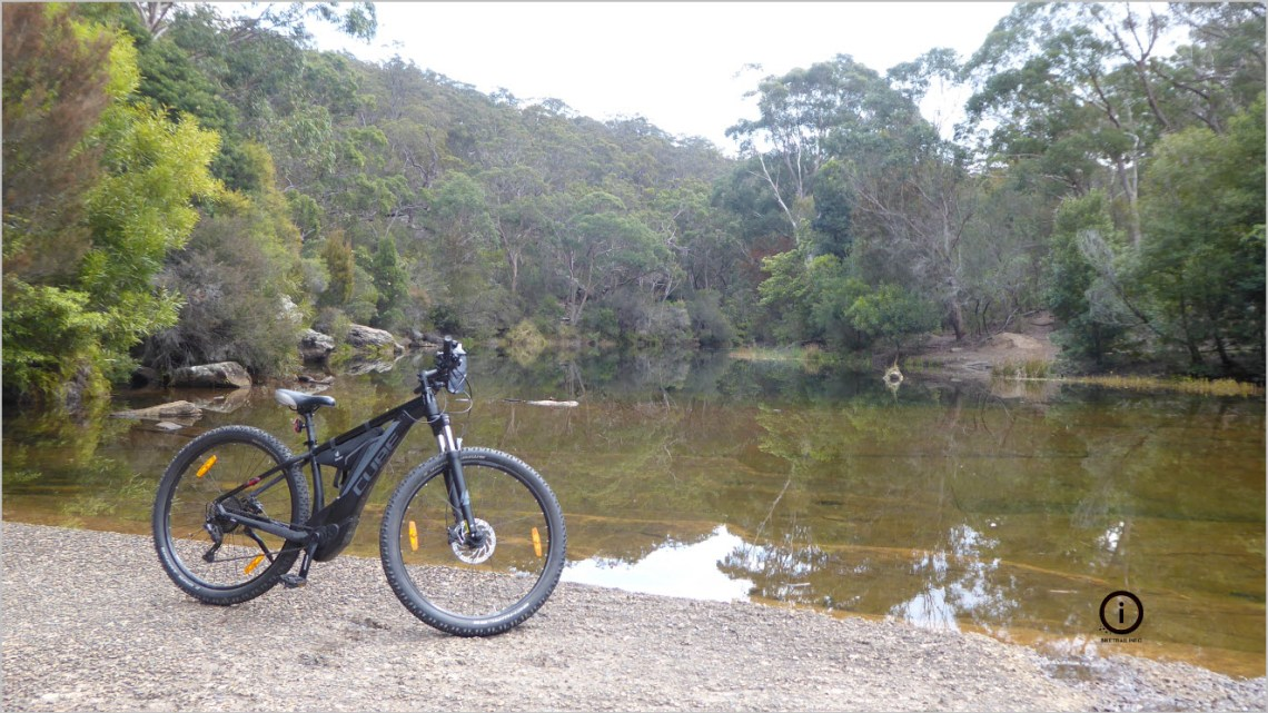 The Gates to the Woronora Pipeline and Loftus MTB
