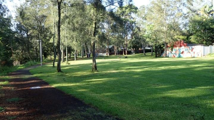 Whites Creek Lane and Sydney Park Loop