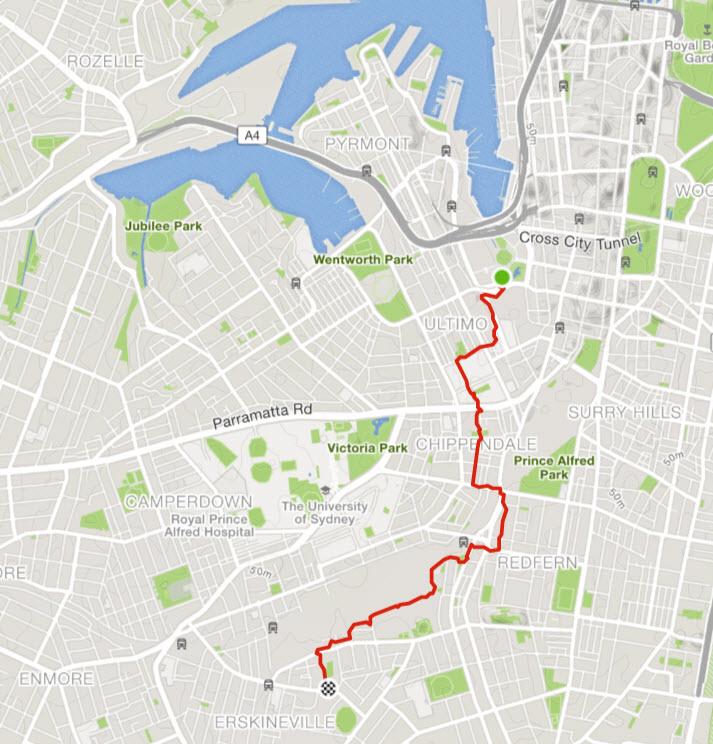 D:\cloud\Dropbox\bike trails\BikeTrailBlog\Beat the bus\5 - Alexandria to Darling Harbour Precienc\biketrail.jpg