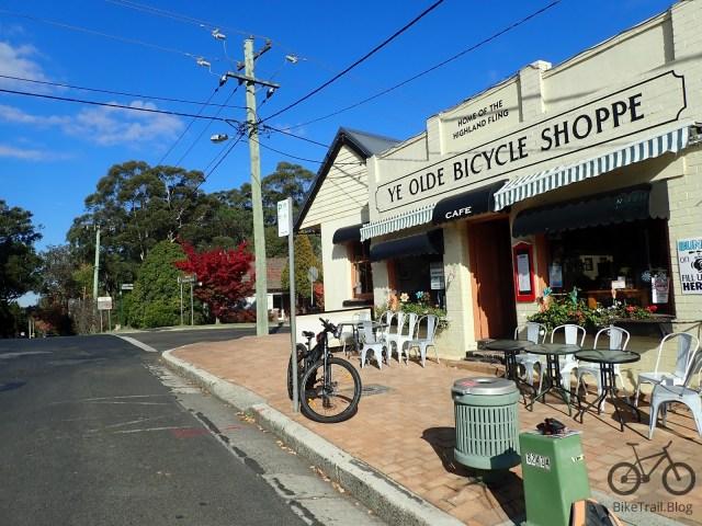 The bike shop cafe