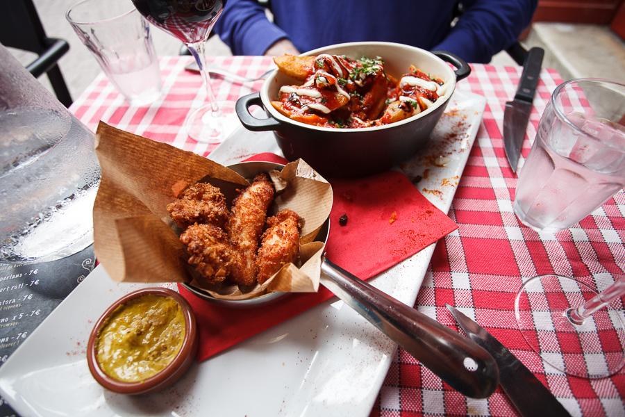 Chicken and Potato Tapas