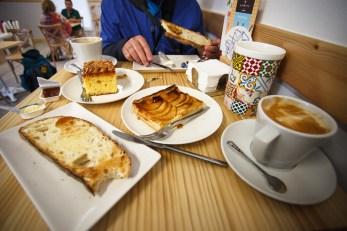 Breakfast in Ponferrada