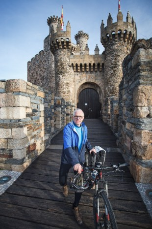 Castle in Ponferrada