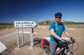 Road Detour Along the Camino de Santiago