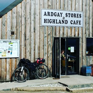 Ardgay Stores and Highland Cafe