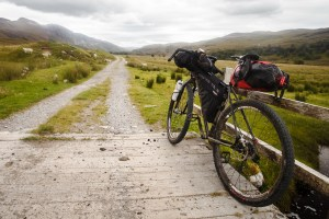 Bikepacking in Scotland - Road to Ullapool