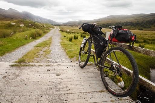 Bikepacking in Scotland - Road to Ullapool