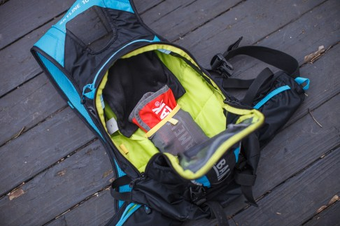 Inside the Camelbak Skyline Hydration Pack