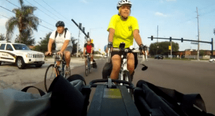 BWCF works with UCF police to keep Bike Bus rolling