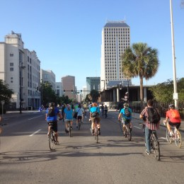 Bike to Work Day with Mayor Dyer