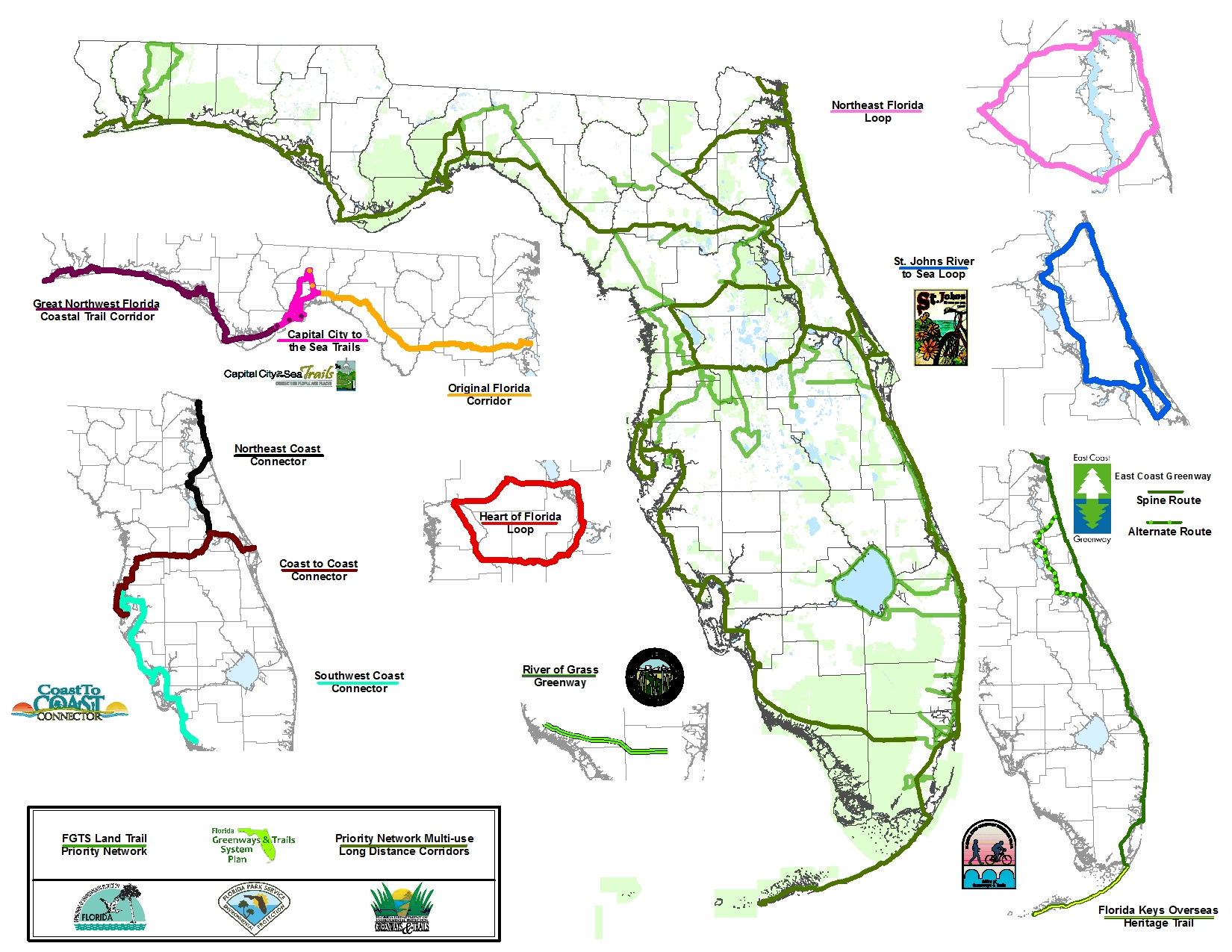 Bike walk central floridac2c only the beginning of for Key west bike trails