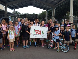 International Walk to School Day 2014