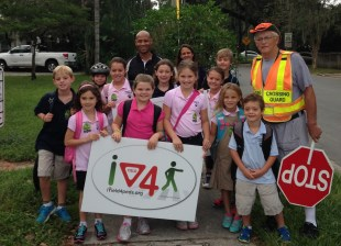OCPS Urges Kids to Walk to School & OPD & OCSO Urges Drivers to Yield