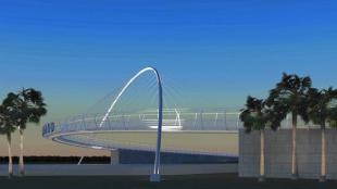 Maitland Pedestrian Bridge: A New Icon