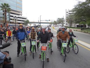 Orlando Bike Share logs 612 trips, 1,119 miles in first month