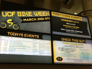 BWCF takes part in first University of Central Florida Bike Week event