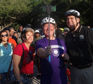 Biking to Work with Mayor Dyer