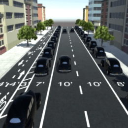 A wonderfully clear explanation on how road diets work
