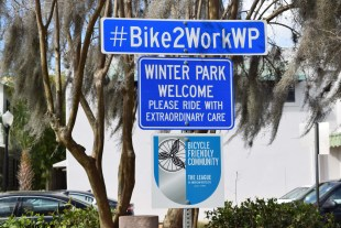 Winter Park recognized as Bicycle Friendly Community