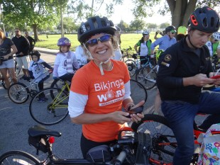 BWCF board member Lisa Portelli to bike 2,176 miles in 19 days