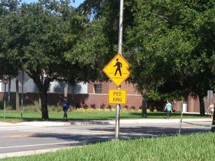 Orlando Sentinel: County, UCF deal should mean students cross safer roads