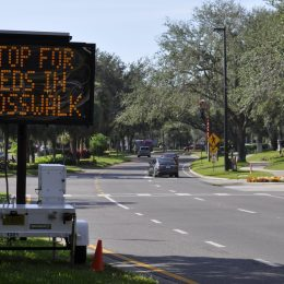 Falling Back with Operation BFF: Crosswalk Crackdown