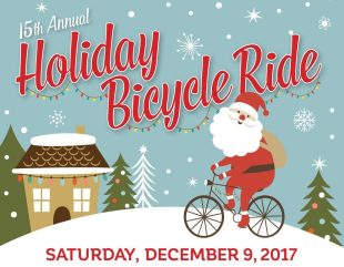 15th Annual Holiday Bicycle Ride on December 9th