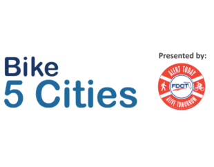 Bike 5 Cities, with support from sponsors, rolls through second year