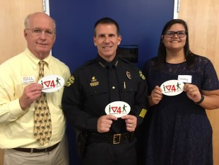 BFF joins OPD to talk safety for National Night Out