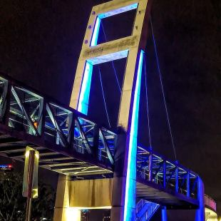 UPDATE: Orlando's Colonial Pedestrian Bridge Now Open