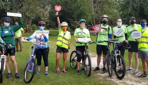 Florida Bicycle Association Names Bike 5 Cities the 2020 Event of The Year