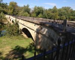 Mile 42.2: The restored, 560-foot-long Monocacy Aqueduct is the longest aqueduct on the C&O Canal. I would cross five aqueducts on this trip.