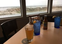 The South Beach Grill in Crescent Beach sits right beside the beach. It has a patio on the first floor and an enclosed room with sweeping views upstairs.