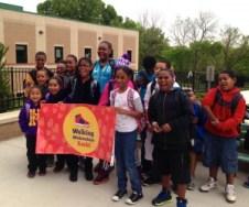 Walking Wednesday at Hazel Grove Elementary in KCK
