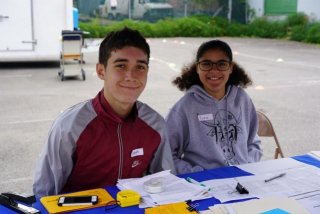 Progs: Noah & Erica at Kids Bike-o-Rama