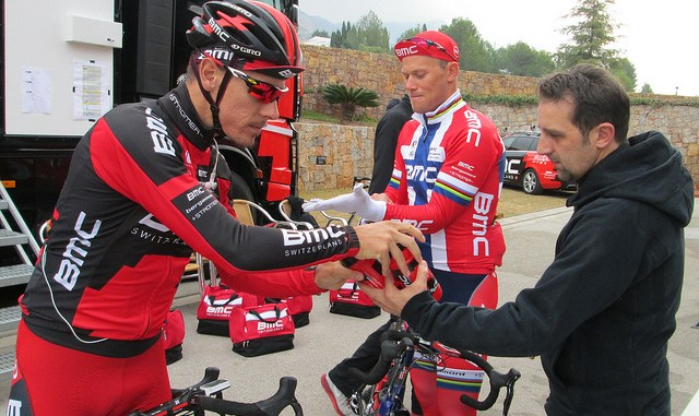 Phillipe Gilbert, Thor Hushovd,