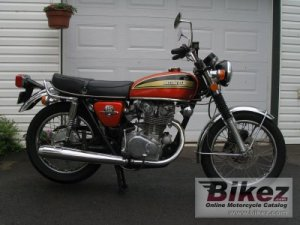 1974 Honda CB 450 disc specifications and pictures
